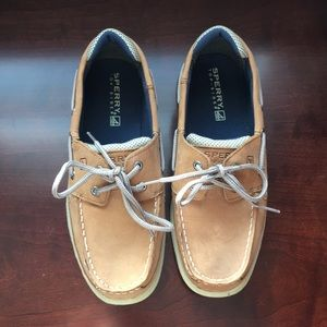 NEW Boys Sperry Top Sliders Boat Shoes Size 5